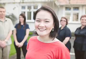 Betty Keng and her team from Taranaki Orthodontics
