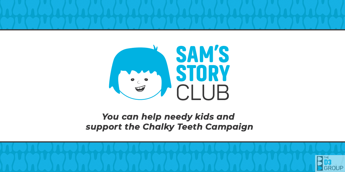 Sam's Story Club - A socially impactful way to help children, medico-dental research, and education worldwide